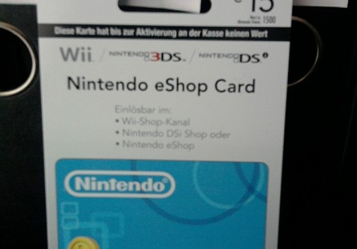Unused 3ds Points Card Codes