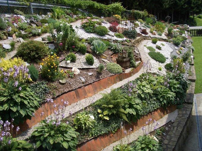 Vorgartengestaltung Mit Rindenmulch Und Kies Performal Best Garten Ideen ...