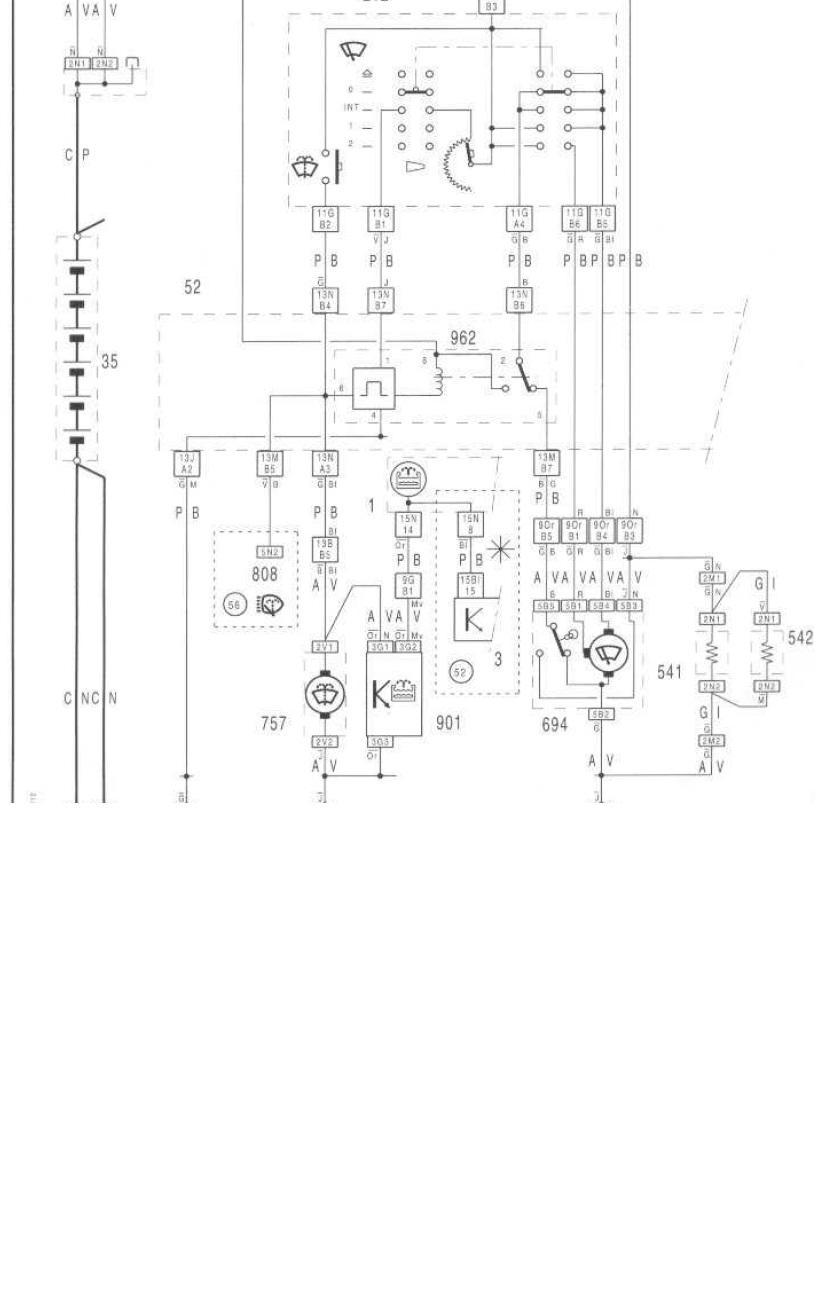 Schaltplan Citroen C4 Picasso