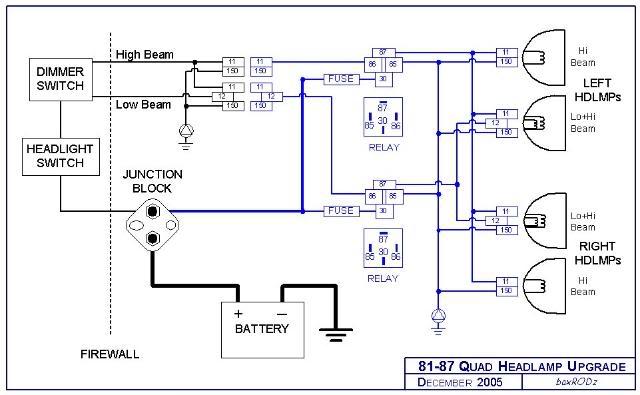 99 chevy cavalier headlight wiring diagram
