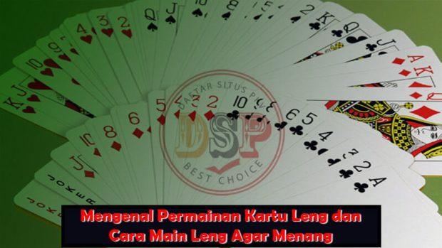 permainan kartu leng