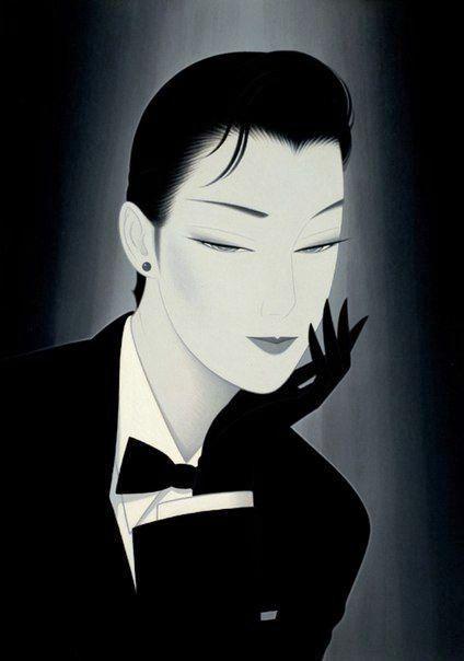 "occhietti: ""Ichiro Tsuruta art """