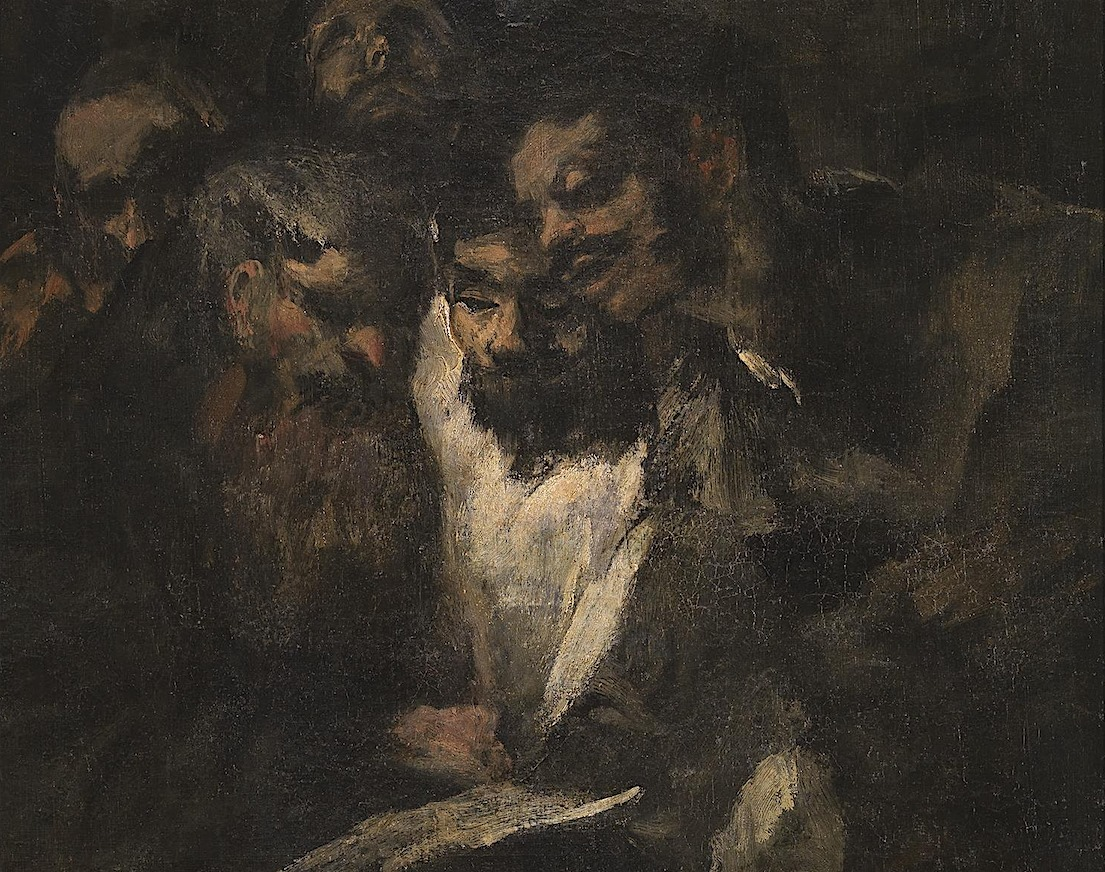 Goya - The Reading - 1820-23 (detail)