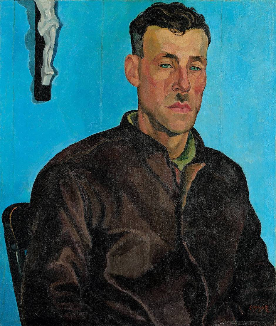 "somanyhumanbeings: "" Edwin Holgate, Paul, Trapper (c. 1929) """