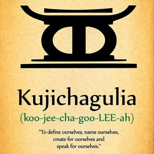 Image result for kujichagulia