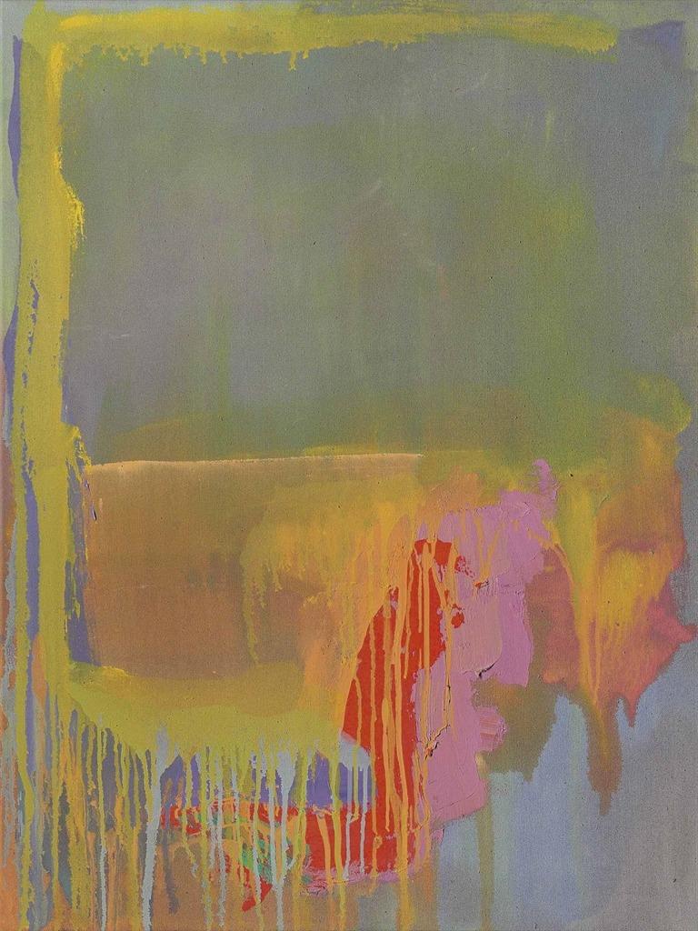 "thunderstruck9:<br /> "" John Hoyland (British, 1934-2011). Shimmy 23.7.77, 1977. Acrylic on canvas, 40 x 30 in.<br /> """