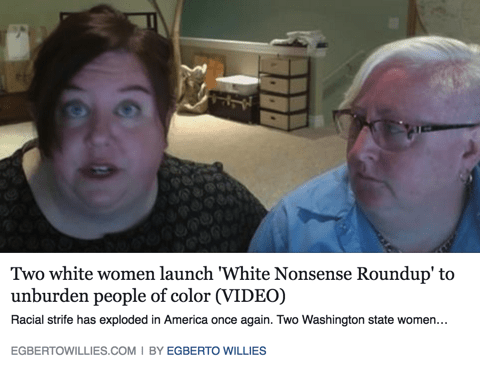 "2petty2function: "" elphabaforpresidentofgallifrey: "" THIS IS HOW YOU FUCKING ALLY! ""White Nonsense Roundup (WNR) was created by white people, for white people, to address our inherently racist society. We believe it is our responsibility to call out..."