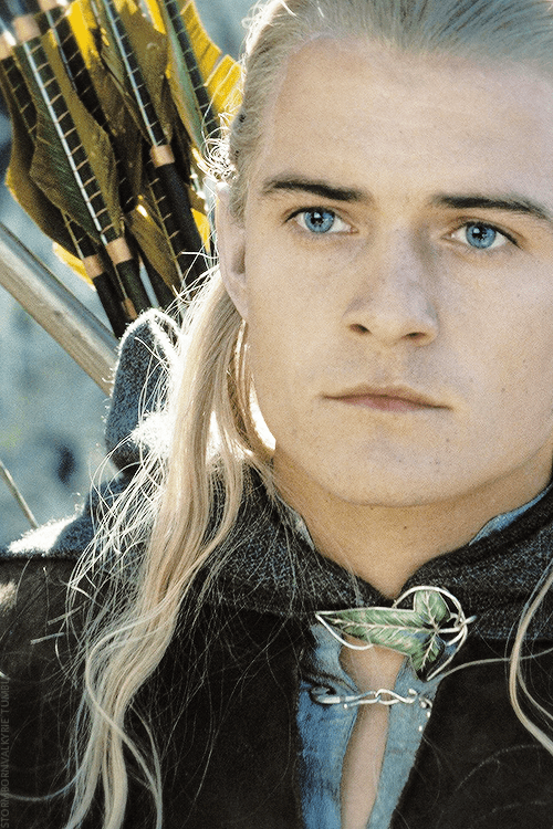 Legolas, Prince of the Woodland Realm.
