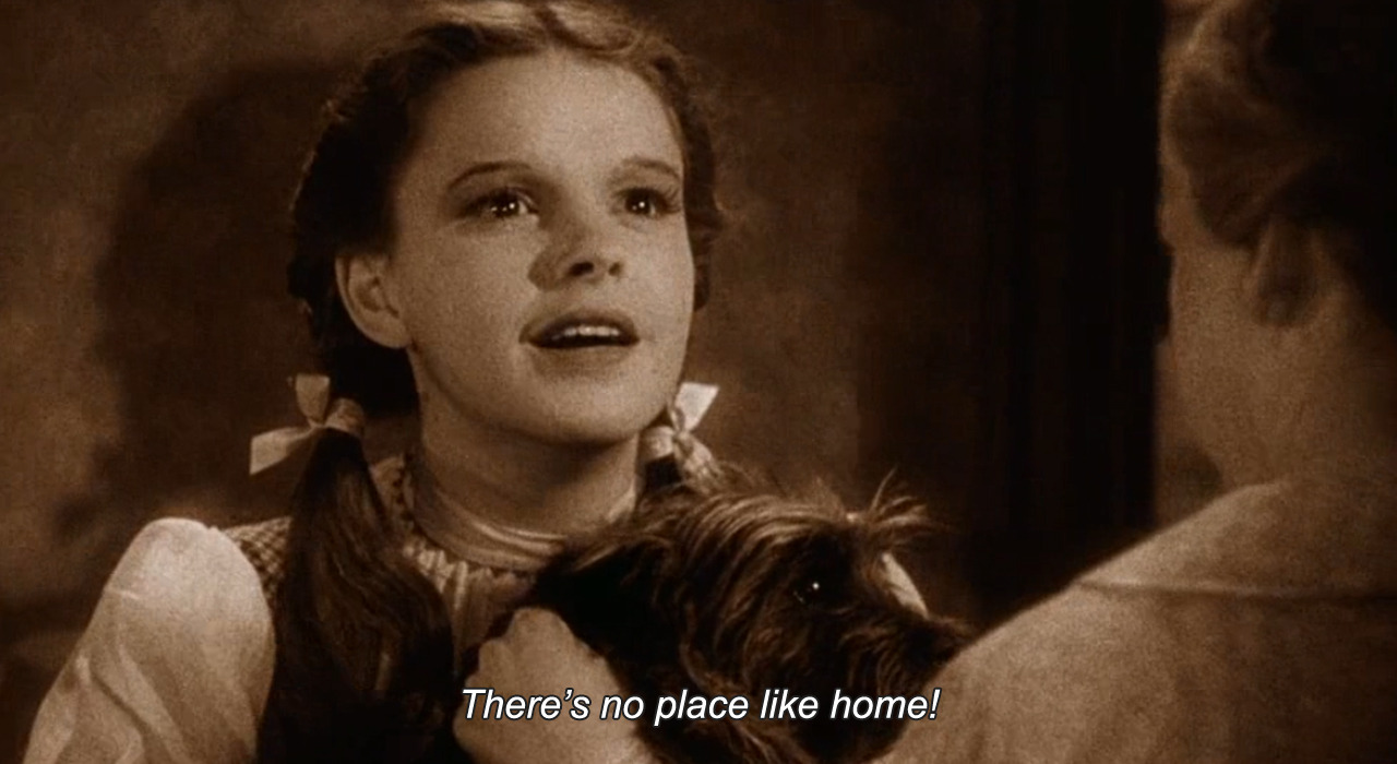 Image result for there's no place like home gif