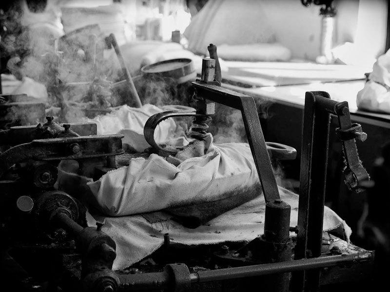 Производство шляпного сырья.