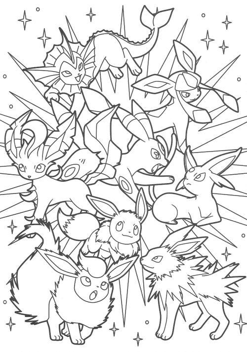 無料ダウンロード】ポケモン ぬりえ テンプレート画像(pokemon) - naver