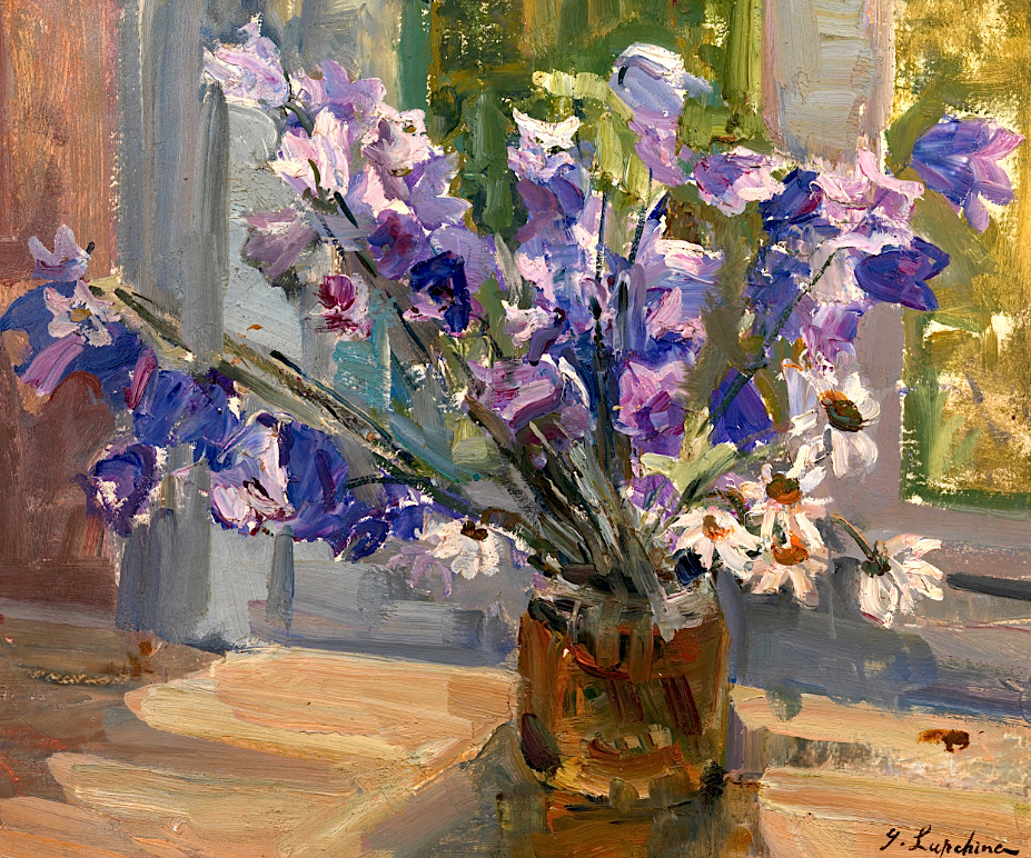 bofransson:  LAPCHINE, GEORGES (1885-1950) Flowers by the Window