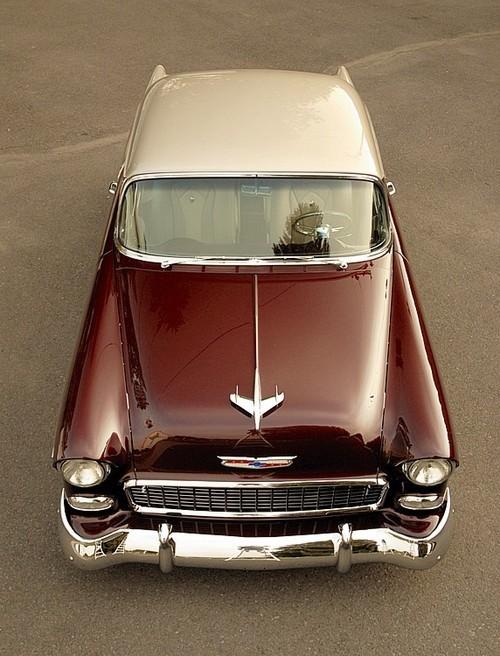 """permiasorella: """" 1955 Chevy Belair """""""
