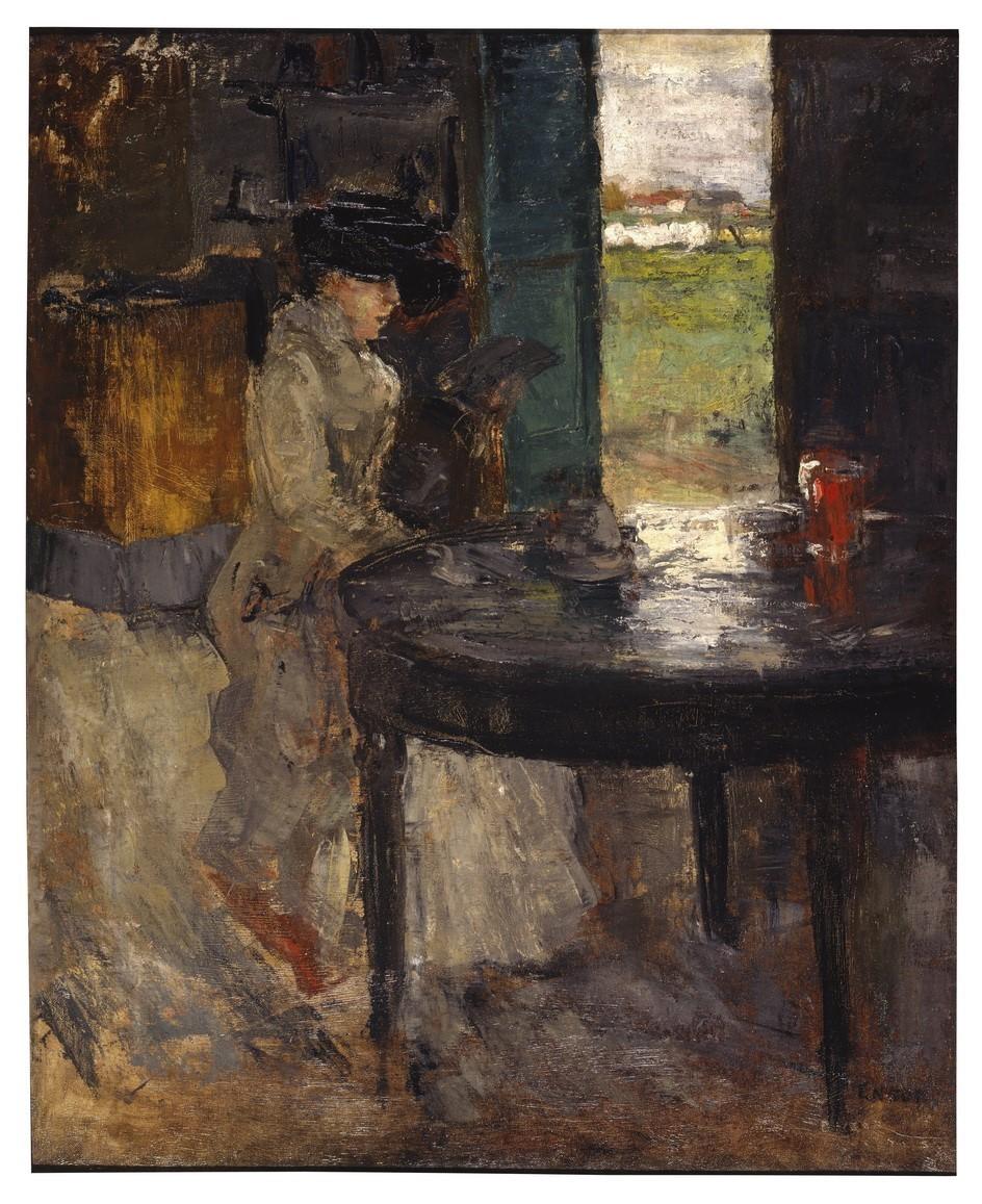 James Ensor (1860-1949) The Wait