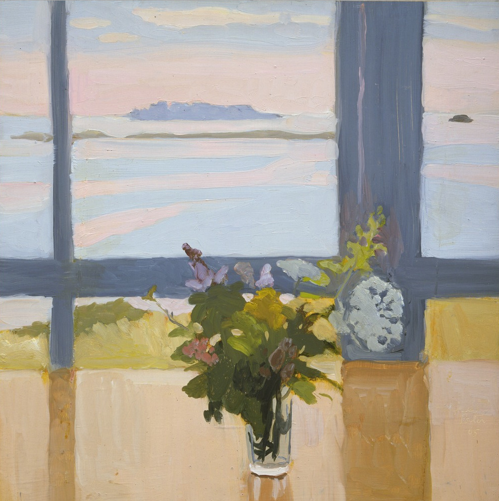 "thusreluctant: "" Flowers by the Sea by Fairfield Porter """