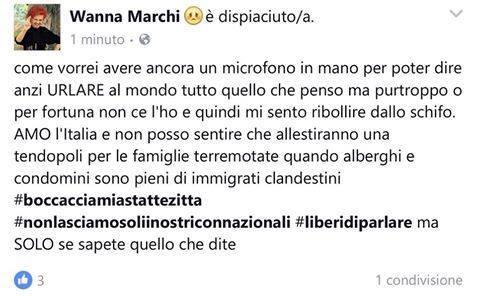"""culochetrema: """" Wanna Marchi nuovo premier, d'accordo? cit. """" delinquente, truffatrice, evasore, e anche razzista, perfetta salviners"""