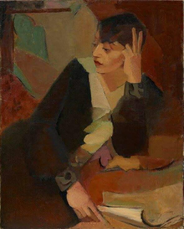 "huariqueje:""  Portrait of Lucie Beynis - Grace Crowley , c.1929Australian , 1890-1979oil on canvas on hardboardArt Gallery of New South Wales"""
