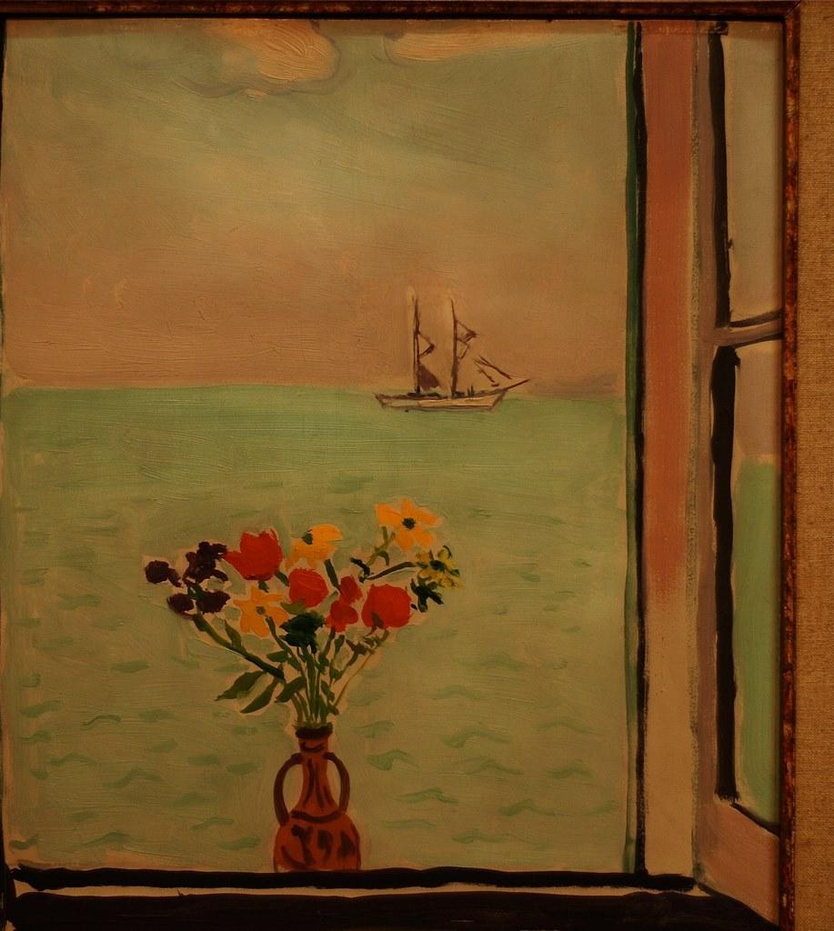 ALBERT MARQUET.Fenêtre à la Goulette, 1926