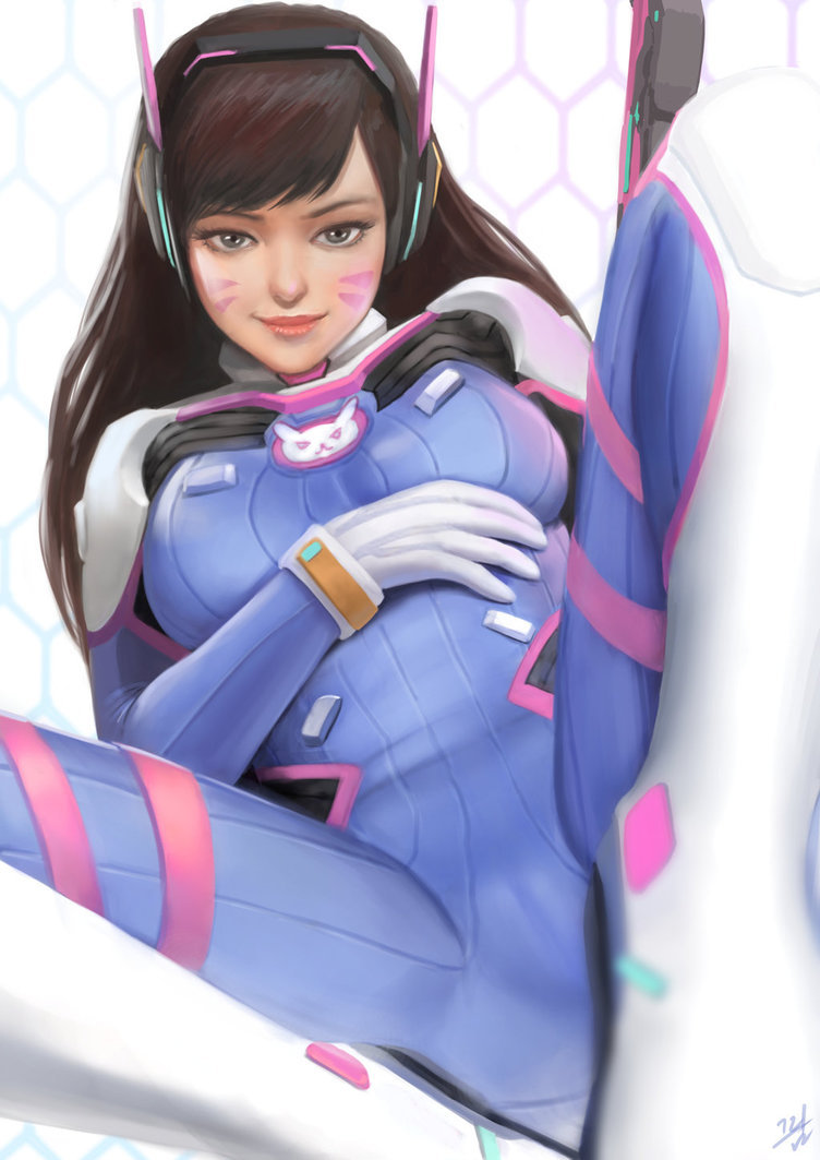 The look on D.Va's Face