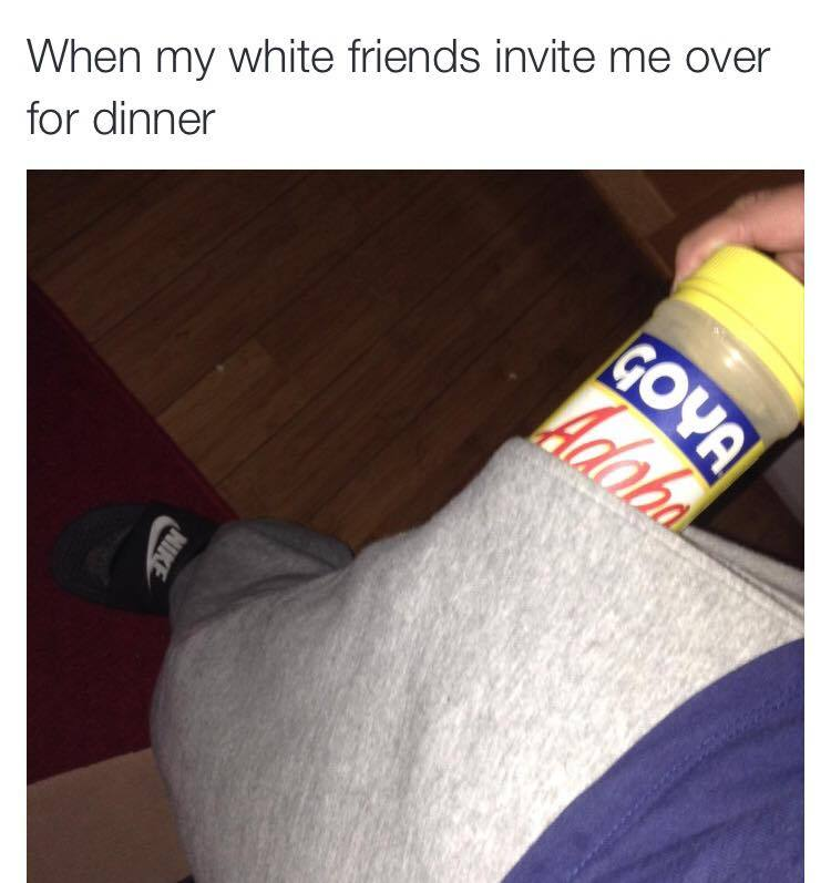 """ayungbiochemist: """"beyonslayed: """"imfatletsprty: """"ukelaylie: """" """" when my POC and Latino friends invite me over for dinner """" I AM SCREAMING OMFG """" They finally learning to clapback!!! """""""