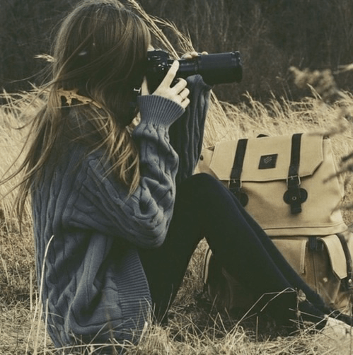 Image result for girl with camera tumblr
