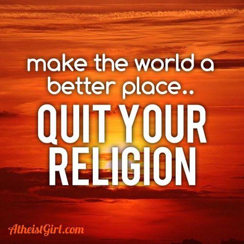 "iamatheistgirl: "" there's no evidence for a god but there's plenty of evidence for the harm that religion has done. ✝☪🛐🚮 #atheist #atheists #atheism #atheistsofinstagram #atheisthumor #atheistcommunity #antitheist #religionpoisonseverything..."