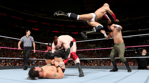 Image result for Cesaro & Sheamus vs. Mark Carradine & Raul White