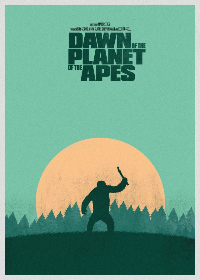 Day 88 of 365 – Dawn of the Planet of the Apes. Buy this Poster.
