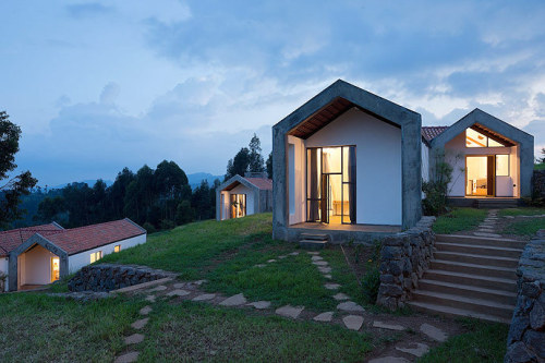 """Umusozi Ukiza """"Healing Hill"""" Doctors' Housing MASS Design Group Located on an adjacent site to the Butaro Hospital, Rwanda, the Butaro Doctors' Housing is designed to attract and retain skilled physicians at the new hospital. The construction process..."""