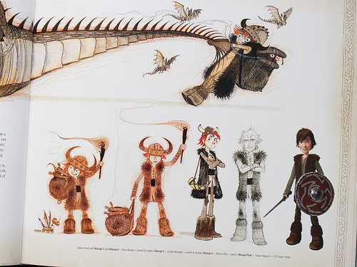 How to train your dragon 2010 - Character designer Source