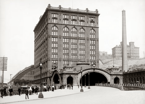 "On This Day in Pittsburgh History: October 12, 1901 Pittsburgh's Union ""Penn"" Station opens."