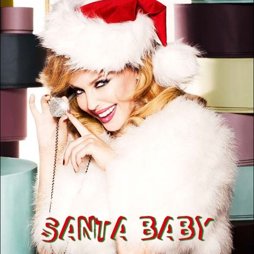Image result for santa baby kylie minogue