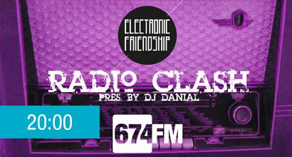electronic friendship radio clash
