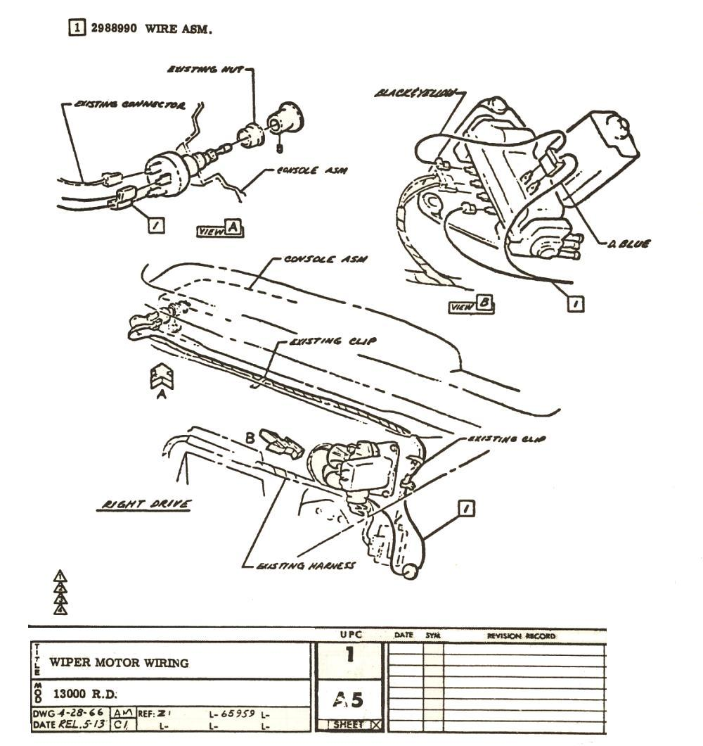 medium resolution of 67 chevelle wiring also with 67 chevelle wiper motor wiring diagram