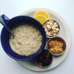 Come by for breakfast! Here's our Morning Oatmeal