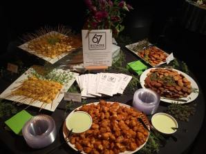 A catering display of ours at Diana Wortham Theatre