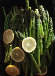 Picture of Asparagus with Lemon by 67 Biltmore Downtown Eatery and Catering in Asheville, NC
