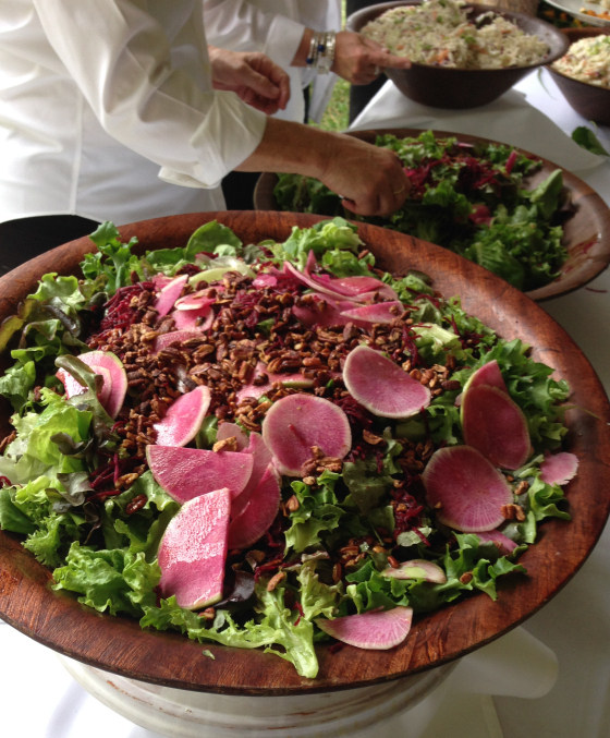 Picture of Salad at Penland Auction by 67 Biltmore Downtown Eatery and Catering in Asheville, NC