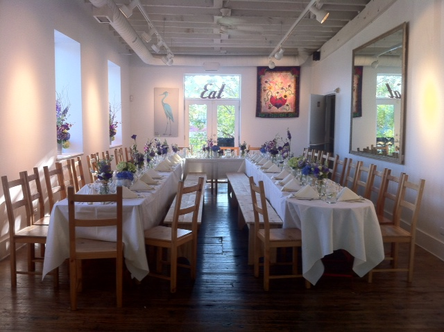 Picture of Gathering Room Setup by 67 Biltmore Downtown Eatery and Catering in Asheville, NC