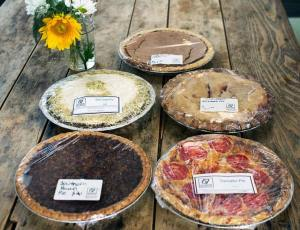 Picture of Assorted Pies by 67 Biltmore Downtown Eatery and Catering
