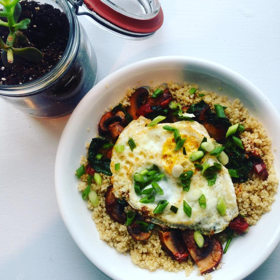 Picture of Savory Quinoa Breakfast Bowl by 67 Biltmore Downtown Eatery and Catering