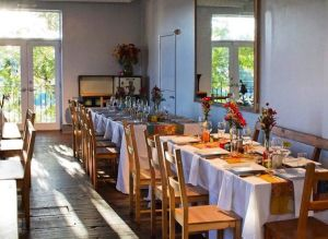 Picture of Rehearsal Dinner Setup by 67 Biltmore Downtown Eatery and Catering in Asheville, NC