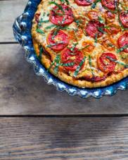 Picture of Summer Tomato Pie by 67 Biltmore Downtown Eatery and Catering in Asheville, NC