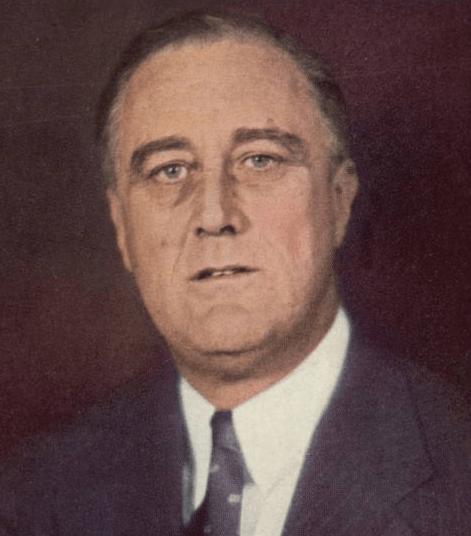 フランクリン・ルーズベルト Franklin Roosevelt