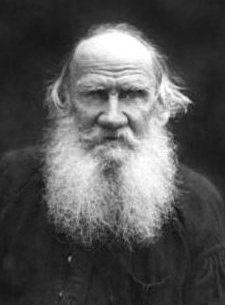 Русский писатель Лев Толстой (1828-1910)