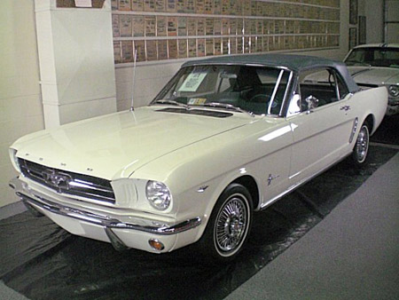 First Ford Mustang Ever Made
