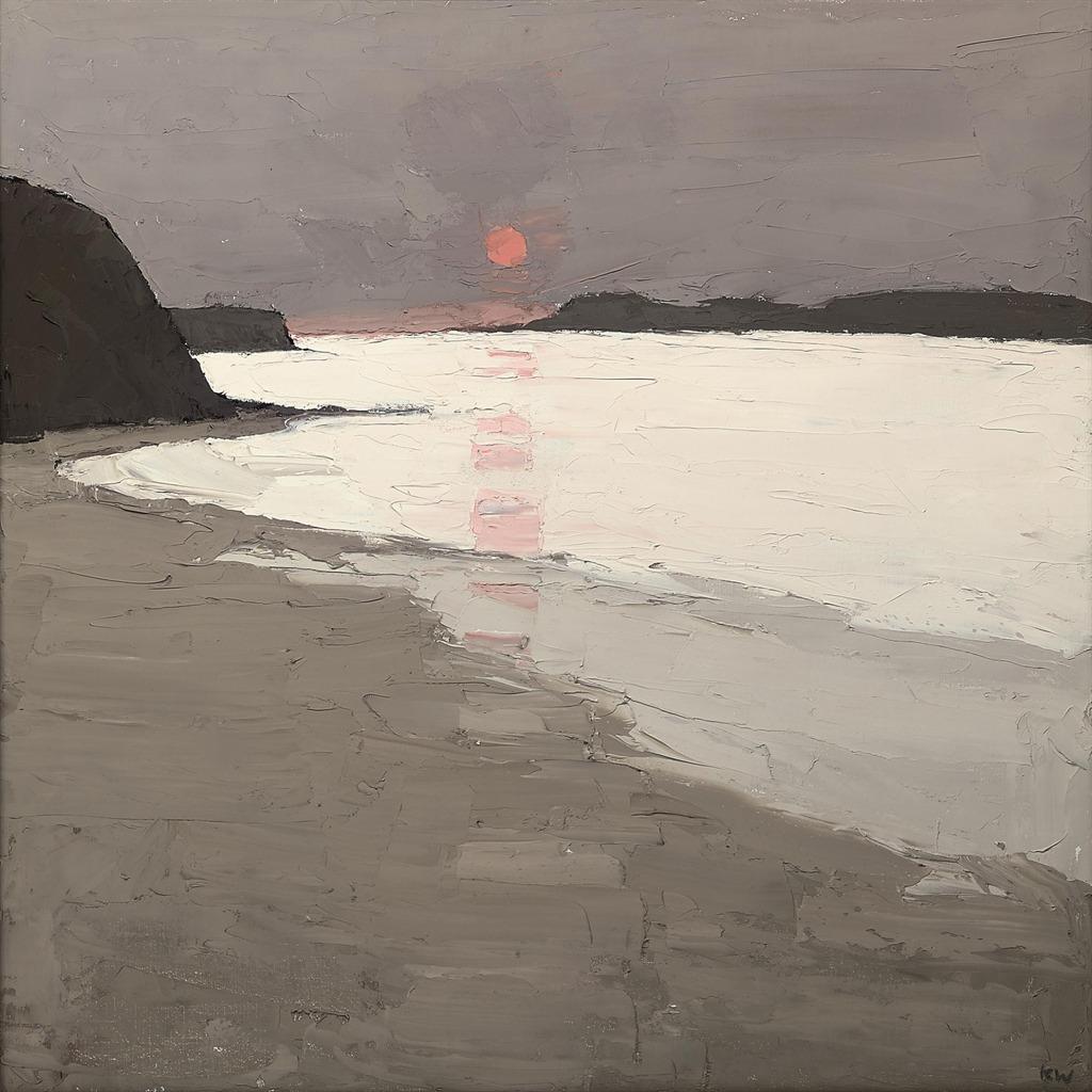 """shear-in-spuh-rey-shuhn:""""KYFFIN WILLIAMSMorfa ConwyOil on Canvas30"""" x 30"""""""""""