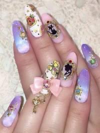 cute nail polish designs   Tumblr