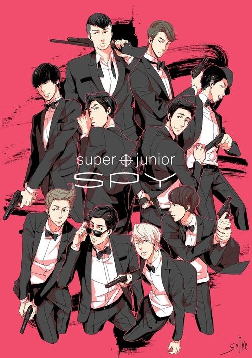 Deseo A Muerte Ver A Super Junior En Un Anime…con