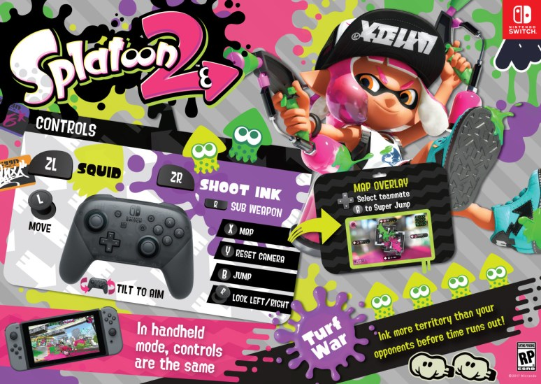 guide get ready for splatoon 2 s testfire with the ultimate lesson